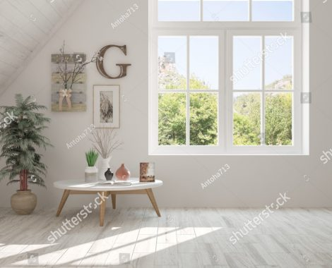 stock-photo-white-empty-room-with-summer-landscape-in-window-scandinavian-interior-design-d-illustration-1006595794
